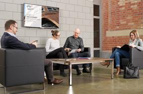 IFH Sitzgruppe im Foyer