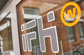 Aussenaufnahme Beschriftung IFH Heilbronn