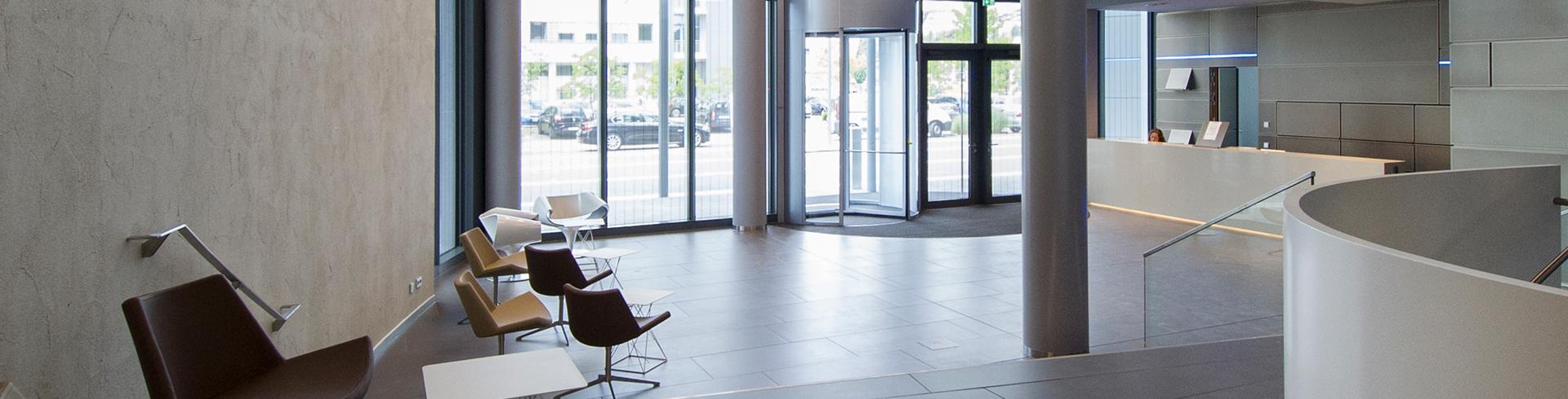 Zukunftspark Wohlgelegen Foyerbereich Kontakt