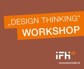 Banner design thinking workshop IFH Heilbronn