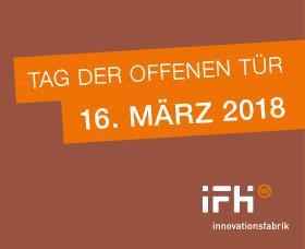 Banner Tag der offenen Tür 2018 IFH Heilbronn